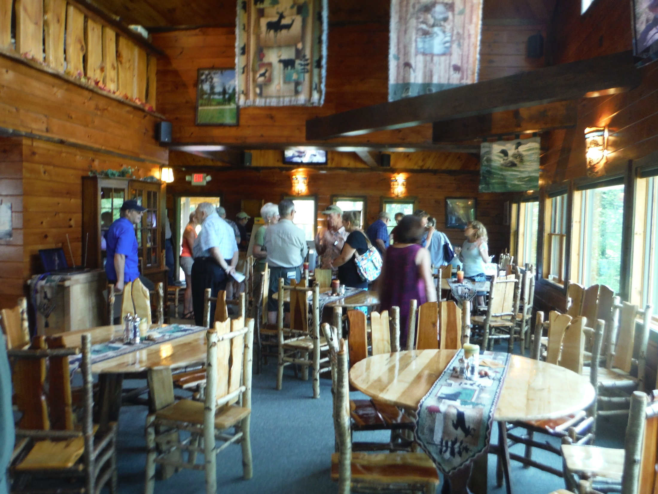 Centennial party at Lake Clear Lodge (2)