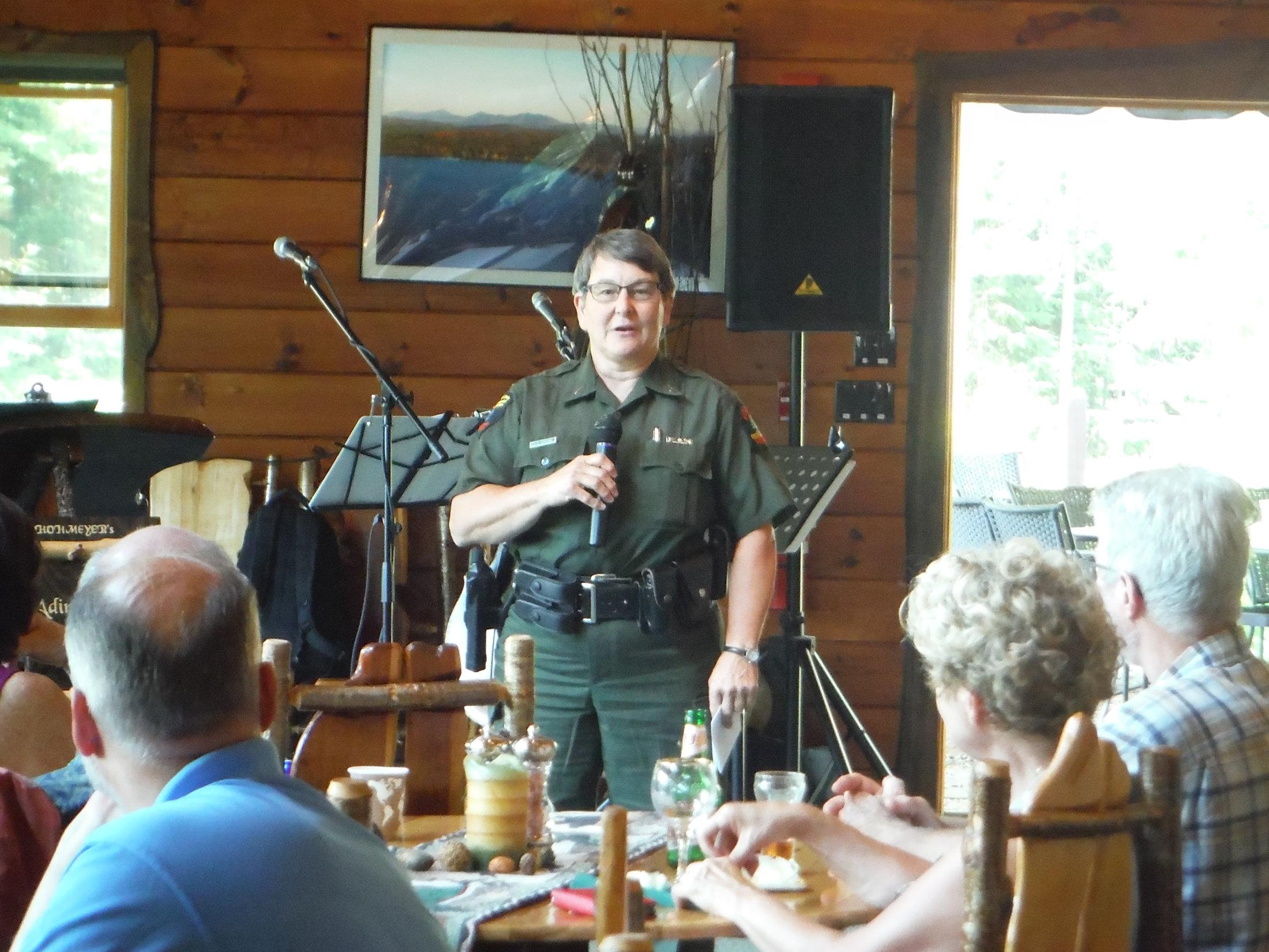 Lt. Julie Harjung, DEC Forest Ranger